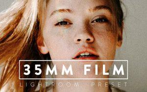 ۹ پریست رنگی حرفه ای لایت روم تم قدیمی ۳۵MM FILM Premium Lightroom Preset
