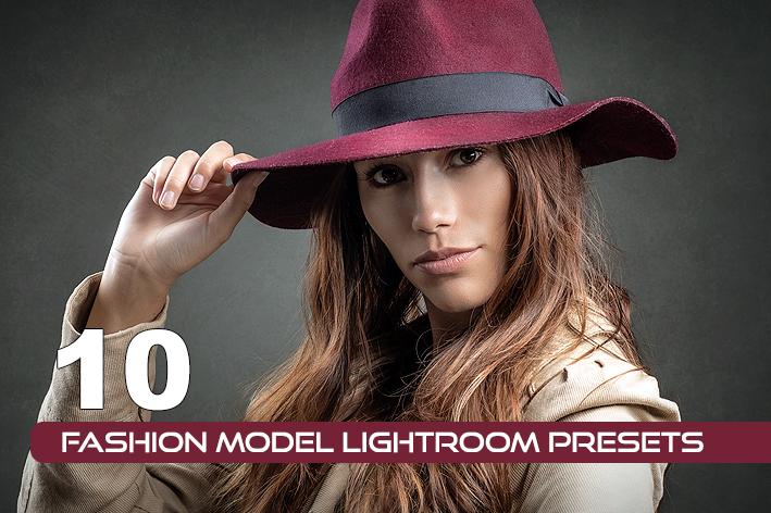 10 پریست فشن حرفه ای لایت روم Fashion Model Lightroom Presets