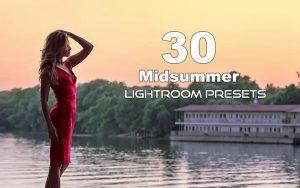 30 پریست لایت روم حرفه ای فصل تابستان Midsummer Lightroom Presets