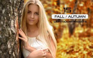 30 پریست لایت روم حرفه ای فصل پاییز Fall Autumn Lightroom Presets