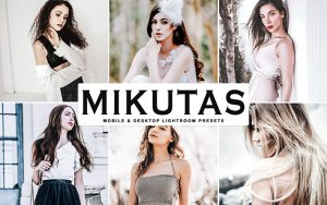 34 پریست لایتروم پرتره و کمرا راو و اکشن فتوشاپ سینمایی Mikutas Lightroom Presets