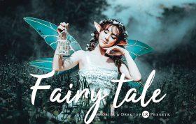34 پریست لایت روم و پریست کمرا راو و اکشن کمرا راو فتوشاپ Fairytale Pro Lightroom Presets
