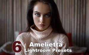 6 پریست لایت روم دسکتاپ و موبایل تم رنگی پاستلی Amelietta Lightroom Presets