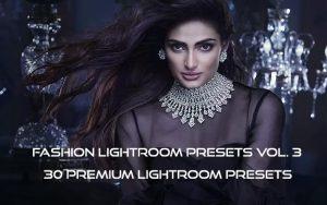 60 پریست لایت روم حرفه ای فشن و پریست کمرا راو فتوشاپ Fashion Lightroom Presets Vol. 3