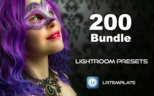 دانلود ۲۰۰ پریست آماده لایت روم حرفه ای Lightroom Presets Bundle