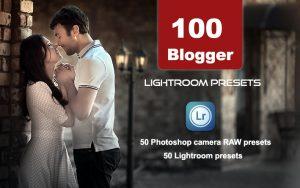 100 پریست لایت روم و پریست کمرا راو فتوشاپ Blogger Lightroom Presets