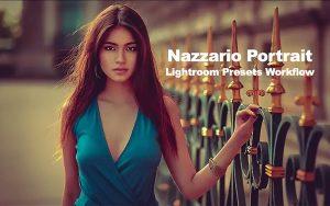 16 پریست لایت روم حرفه ای پرتره Nazzario Portrait Lightroom Presets Workflow