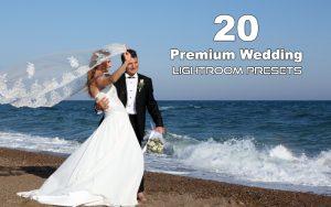 20 پریست عروسی لایت روم و پریست کمرا راو فتوشاپ Premium Wedding Lightroom Presets