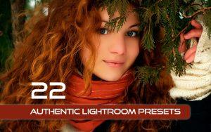 22 پریست رنگی آماده لایت روم Authentic Lightroom Presets