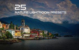 25 پریست لایت روم حرفه ای طبیعت Nature Lightroom Presets