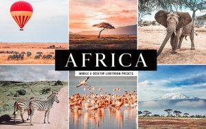 34 پریست لایتروم و Camera Raw و اکشن کمرا راو فتوشاپ تم آفریقا Africa Lightroom Presets