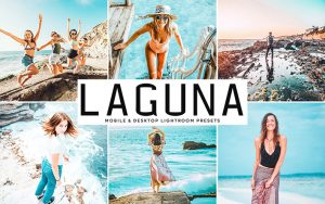 34 پریست لایت روم و Camera Raw و اکشن کمرا راو فتوشاپ تم لاگونا Laguna Lightroom Presets