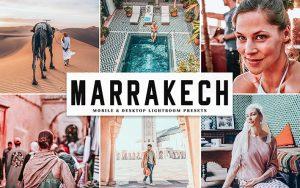 34 پریست لایت روم و Camera Raw و اکشن کمرا راو فتوشاپ تم مراکش Marrakech Lightroom Presets