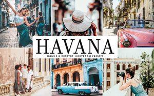 34 پریست لایت روم و Camera Raw و اکشن کمرا راو فتوشاپ تم هاوانا Havana Lightroom Presets