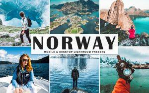 34 پریست لایت روم و Camera Raw و اکشن کمرا راو فتوشاپ نروژ Norway Lightroom Presets