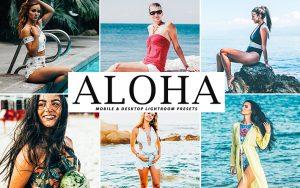 34 پریست لایت روم و Camera Raw و اکشن کمرا راو فتوشاپ هاوایی Aloha Lightroom Presets