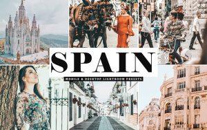 34 پریست لایت روم و Camera Raw و اکشن کمرا فتوشاپ اسپانیا Spain Lightroom Presets