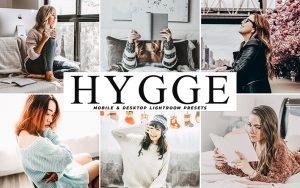 34 پریست لایت روم و Camera Raw و اکشن کمرا فتوشاپ تم روشن Hygge Lightroom Presets