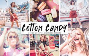 34 پریست لایت روم و Camera Raw و اکشن کمرا فتوشاپ تم پشمک رنگی Cotton Candy Lightroom Presets