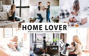 34 پریست لایت روم و Camera Raw و اکشن کمرا فتوشاپ خانه عشق Home Lover Lightroom Presets