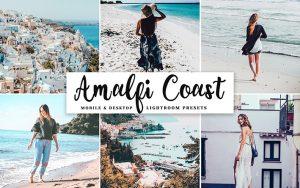 34 پریست لایت روم و Camera Raw و اکشن کمرا فتوشاپ ساحل آمالفی Amalfi Coast Pro Lightroom Presets