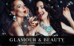 34 پریست لایت روم پرتره و کمرا راو و اکشن کمرا راو فتوشاپ دختر زیبا Glamour Beauty Lightroom Presets