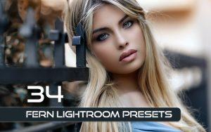 34 پریست لایت روم پرتره و کمرا راو و اکشن کمرا راو فتوشاپ Fern Lightroom Presets