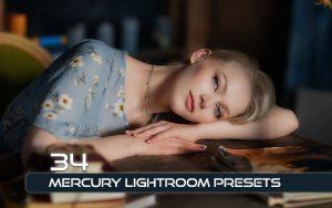 34 پریست لایت روم پرتره و کمرا راو و اکشن کمرا راو فتوشاپ Mercury Lightroom Presets