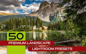 50 پریست آماده لایتروم با افکت های منظره و طبیعت Premium Landscape Lightroom Presets