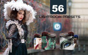 56 پریست رنگی آماده لایت روم دسکتاپ Preset Collection