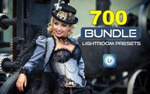 700 پریست آماده رنگی لایت روم حرفه ای Lightroom Presets Bundle