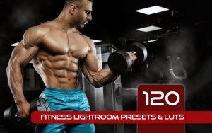 120 پریست لایت روم ورزشی بدنسازی و لات رنگی Fitness Lightroom Presets & LUTs