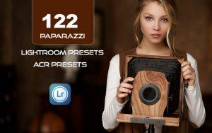 122 پریست لایت روم عکاسی و پریست کمراراو Paparazzi LR Mobile and ACR Presets
