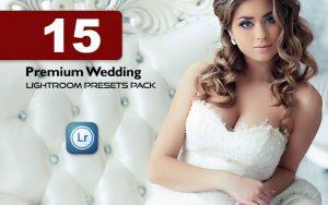 15 پریست لایت روم عروسی حرفه ای Premium Wedding Lightroom Presets Pack