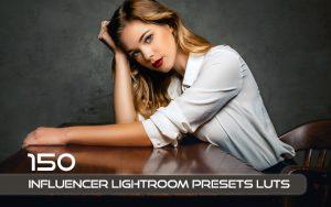 150 پریست لایت روم و لات رنگی تم اینفلوئنسر Influencer Lightroom Presets LUTs