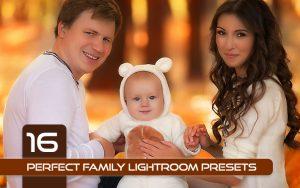 16 پریست رنگی لایت روم تم خانواده کامل Perfect Family Lightroom Presets