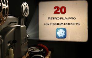 20 پریست آماده لایت روم تم رنگی فیلم قدیمی Retro Film Pro Lightroom Presets