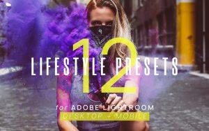 24 پریست آماده لایت روم تم سبک زندگی Lifestyle Presets for Lightroom
