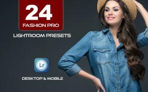 24 پریست فشن حرفه ای لایت روم Fashion Pro Presets for Lightroom