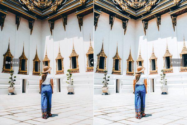 34 پریست لایتروم و Camera Raw و اکشن کمرا راو فتوشاپ تم بانکوک Bangkok Lightroom Presets