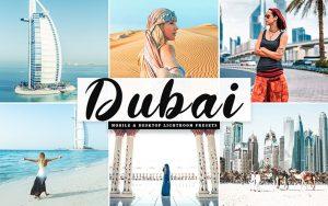 34 پریست لایتروم و Camera Raw و اکشن کمرا راو فتوشاپ تم دبی Dubai Lightroom Presets