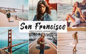 34 پریست لایتروم و Camera Raw و اکشن کمرا راو فتوشاپ تم سانفرانسیسکو San Francisco Lightroom Presets