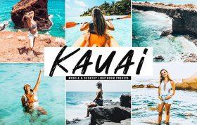 34 پریست لایتروم و Camera Raw و اکشن کمرا راو فتوشاپ تم کائوآئی Kauai Lightroom Presets