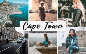 34 پریست لایتروم و Camera Raw و اکشن کمرا راو فتوشاپ تم کیپ تاون Cape Town Lightroom Presets
