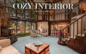 50 پریست لایت روم دکوراسیون داخلی و براش لایت روم Cozy Interior Presets for Lightroom