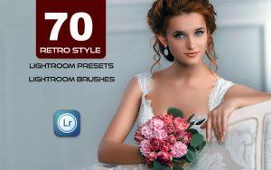 70 پریست لایت روم عروسی و براش لایت روم Retro Style Presets for Lightroom