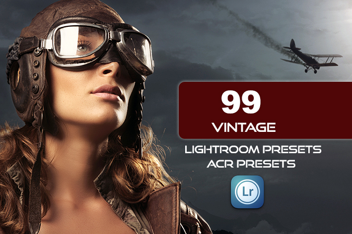 99 پریست لایت روم سینمایی و پریست کمراراو Vintage Lightroom ACR Presets