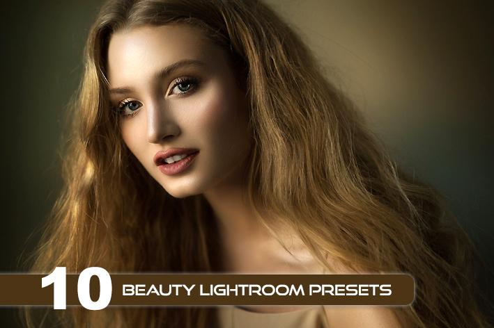 10 پریست لایت روم حرفه ای زیبایی پرتره Beauty Lightroom Presets