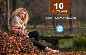 10 پریست لایت روم رنگی عکس پاییز Autumn Lightroom Presets