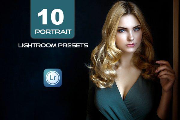 10 پریست لایت روم پرتره حرفه ای Portrait Lightroom Presets